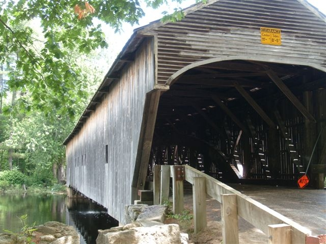 The Romance of the Covered Bridge Found at Hemlock Bridge in Fryeburg, Maine