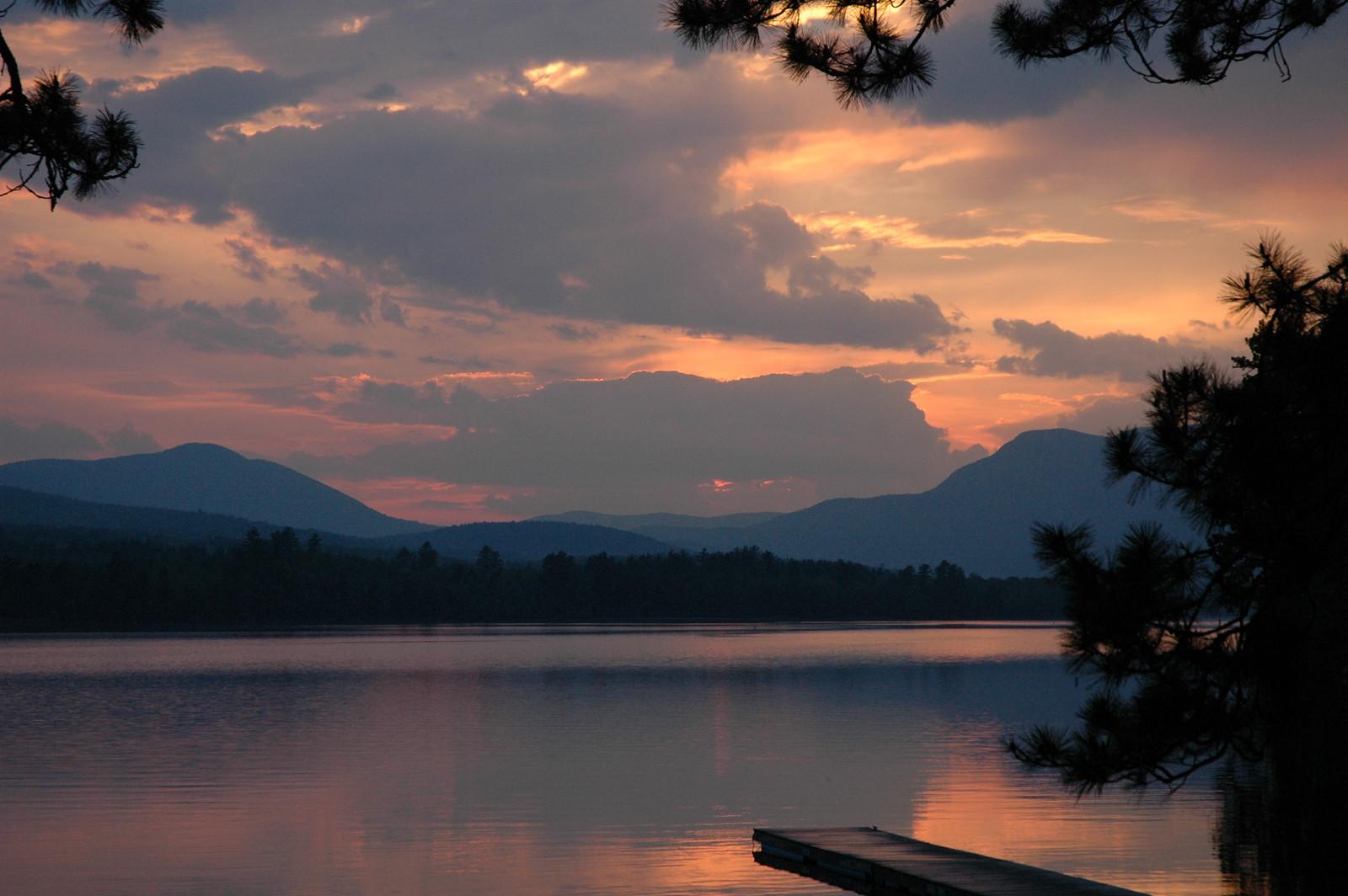 Mr Lake Frontwebb Lake Weld Maine Offers Unsurpassed