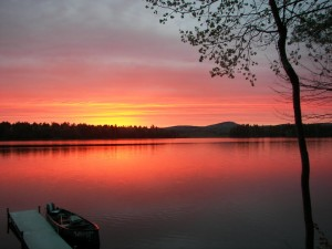 Chemo Pond, Parks Pond and Lower Springy Pond, Clifton, Maine: Three Quiet Lakefront Real Estate Gems
