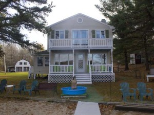 Lakefront Property in Shapleigh, Maine, Features Stellar Beach