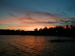 Molasses Pond, Eastbrook, Maine: Life Slows Down for Lakefront Property Owners