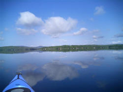 Beech Hill Pond, Otis, Maine: Lakefront Property Owners Enjoy a Premier Fishing Lake