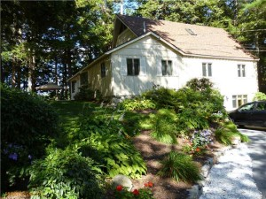 Turn-key Lakefront Property Features Endless Views of Pristine Sabbathday Lake, New Gloucester, Maine