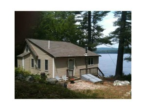 Make Forever Friends at Lakefront House on Quiet Stearns Pond in Sweden, Maine