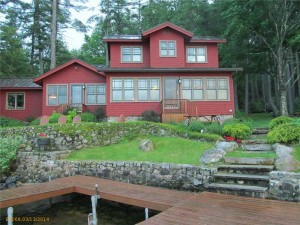 Classic Maine Bungalow Offers Perfect Lakefront Retreat on Long Lake, Naples, Maine