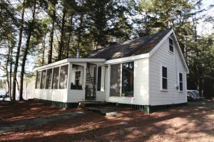 Carefree Living at Classic Lakefront Camp on Sebago Lake, Casco, Maine