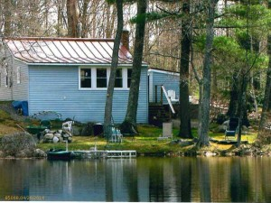 Neat as a Pin Lakefront House For Sale on David Pond, Fayette, Maine