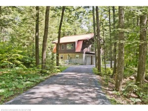 Must See Private Lakefront Retreat For Sale on Flying Pond, Vienna, Maine