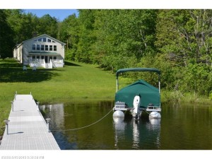 Raised Ranch for sale on Splendid Sebec Lake, Bowerbank, Maine